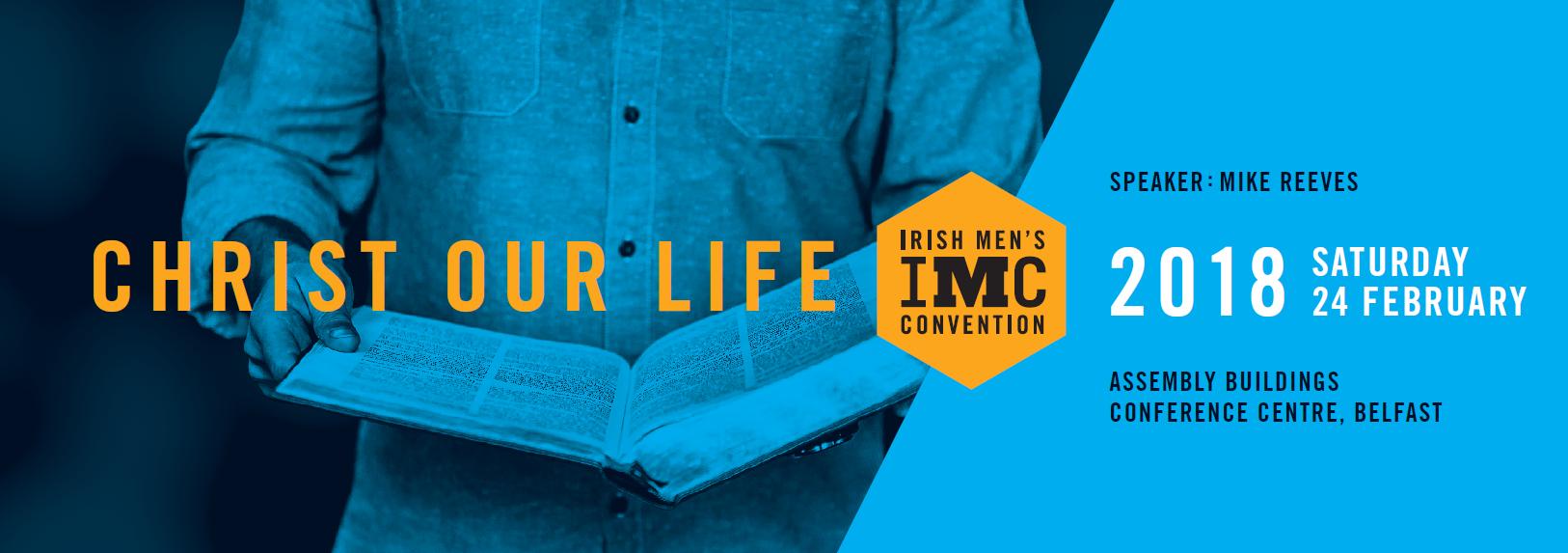 IMC 2018 - Christ Our Life